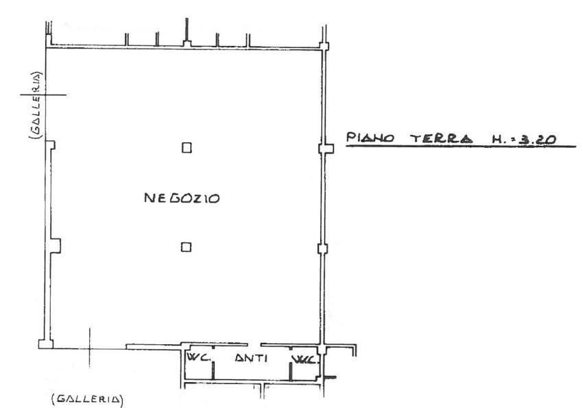 NEGOZIO in zona Meridiana a Reggio Emilia